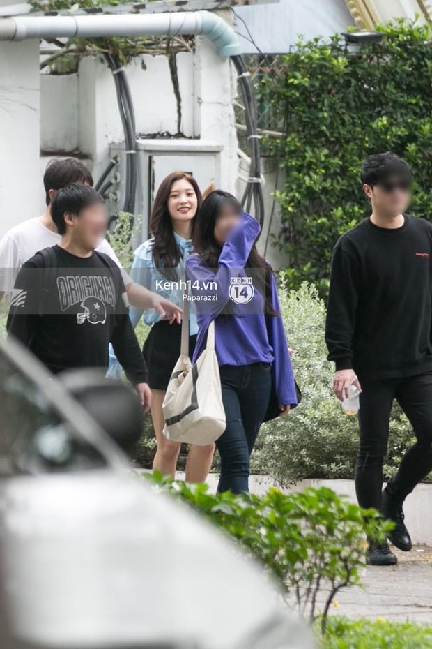 Chi Pu thân thiết, đi ăn tối cùng nữ thần Kpop Jung Chae Yeon và bạn trai tin đồn Jin Ju Hyung - Ảnh 7.