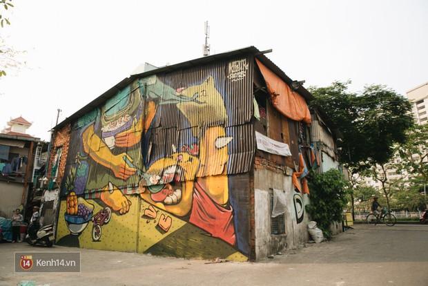 Hãy nhìn xem, Graffiti đã biến một khu dân cư thành cái nôi nhiếp ảnh dành cho giới trẻ thế nào - Ảnh 7.