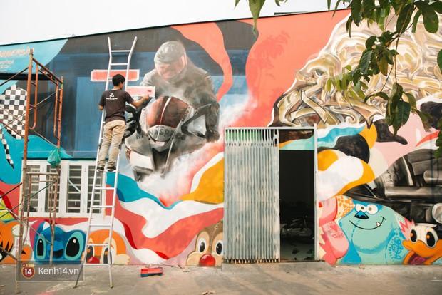 Hãy nhìn xem, Graffiti đã biến một khu dân cư thành cái nôi nhiếp ảnh dành cho giới trẻ thế nào - Ảnh 9.