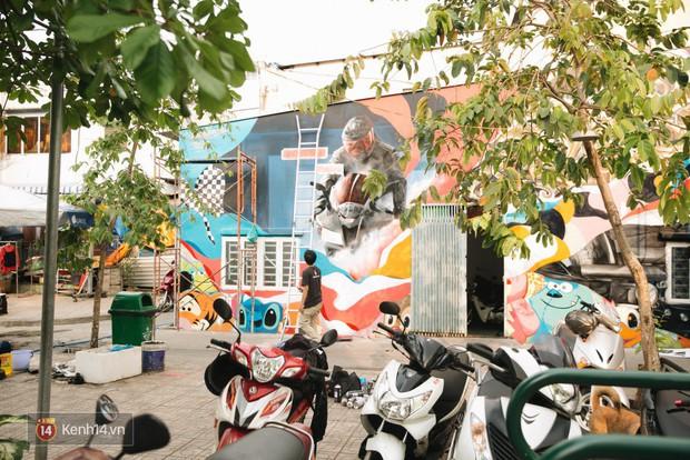 Hãy nhìn xem, Graffiti đã biến một khu dân cư thành cái nôi nhiếp ảnh dành cho giới trẻ thế nào - Ảnh 8.