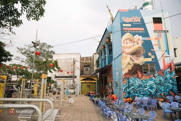 Hãy nhìn xem, Graffiti đã biến một khu dân cư thành cái nôi nhiếp ảnh dành cho giới trẻ thế nào - Ảnh 3.