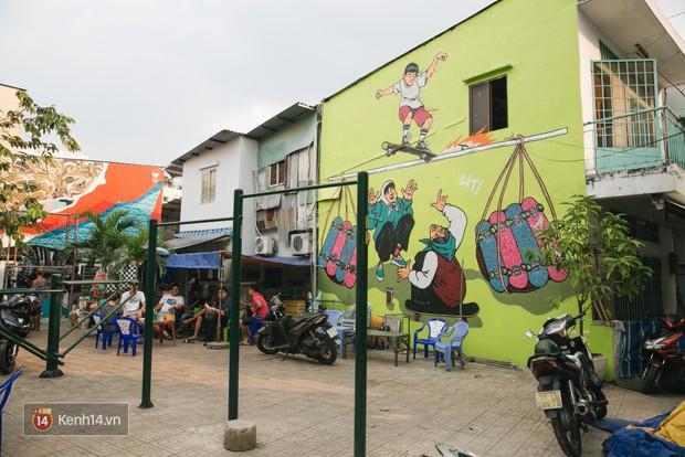Hãy nhìn xem, Graffiti đã biến một khu dân cư thành cái nôi nhiếp ảnh dành cho giới trẻ thế nào - Ảnh 2.