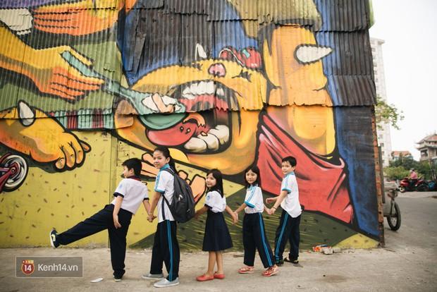 Hãy nhìn xem, Graffiti đã biến một khu dân cư thành cái nôi nhiếp ảnh dành cho giới trẻ thế nào - Ảnh 11.