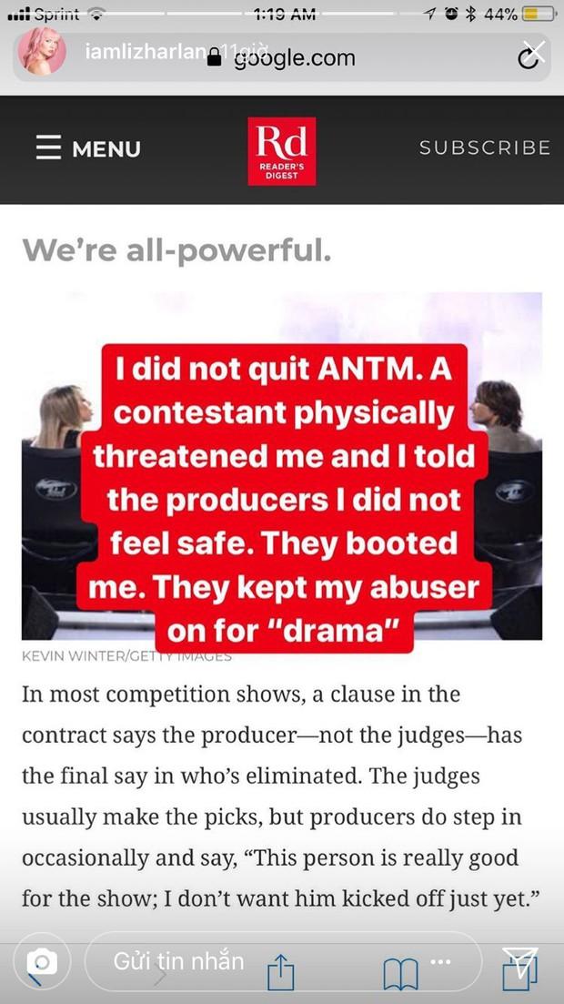 Next Top Mỹ: Vừa dừng chân, cô gái tóc hồng tố cáo bị dọa đánh, nhà sản xuất làm ngơ để tạo drama - Ảnh 4.