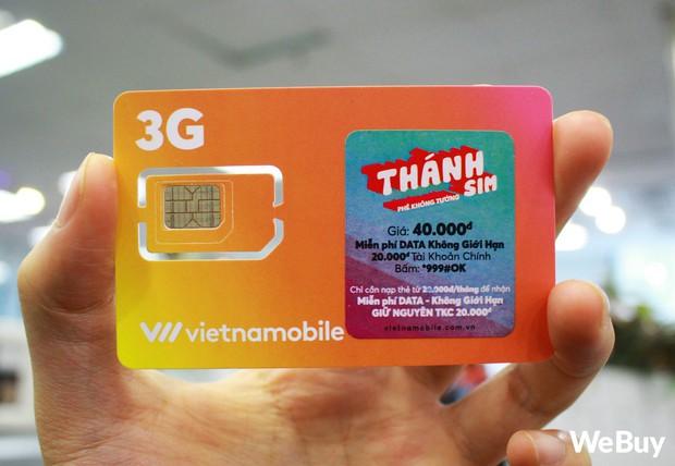 Dùng thử Thánh Sim - Gói hòa mạng rẻ chỉ bằng cốc trà sữa đến từ Vietnamobile - Ảnh 1.