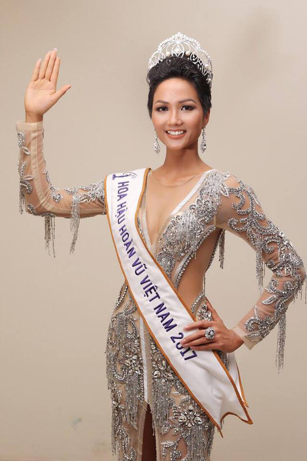 Hoa hậu Kiều Ngân liều mình mời Hoa hậu HHen Niê đến Chung kết Én vàng 2017 - Ảnh 2.