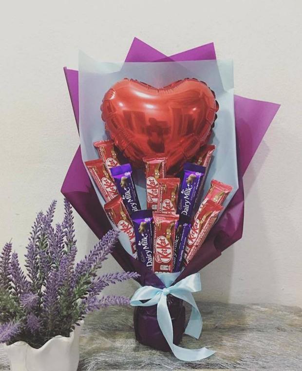Không cần tốn tiền mua hoa, valentine là phải đi qua đường dạ dày như thế này - Ảnh 7.