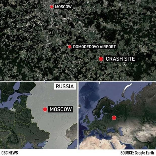 Mảnh vỡ và hình ảnh nạn nhân vụ tai nạn máy bay thảm khốc tại Nga - Ảnh 7.