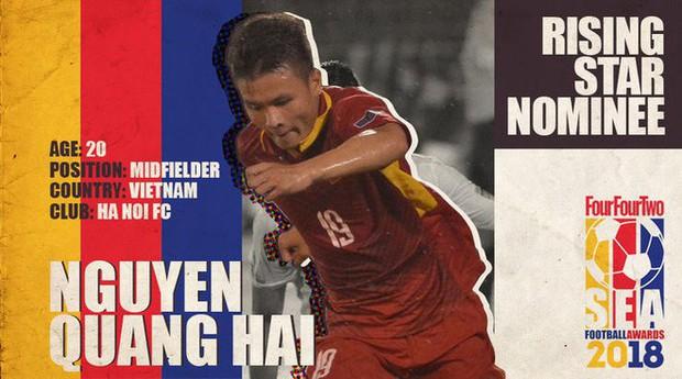 Quang Hải trượt giải Cầu thủ trẻ xuất sắc nhất Đông Nam Á - Ảnh 1.