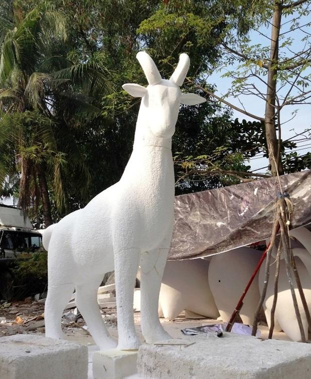 Nhìn lại hình ảnh những linh vật ở đường hoa Nguyễn Huệ trong 5 năm trở lại đây - Ảnh 4.