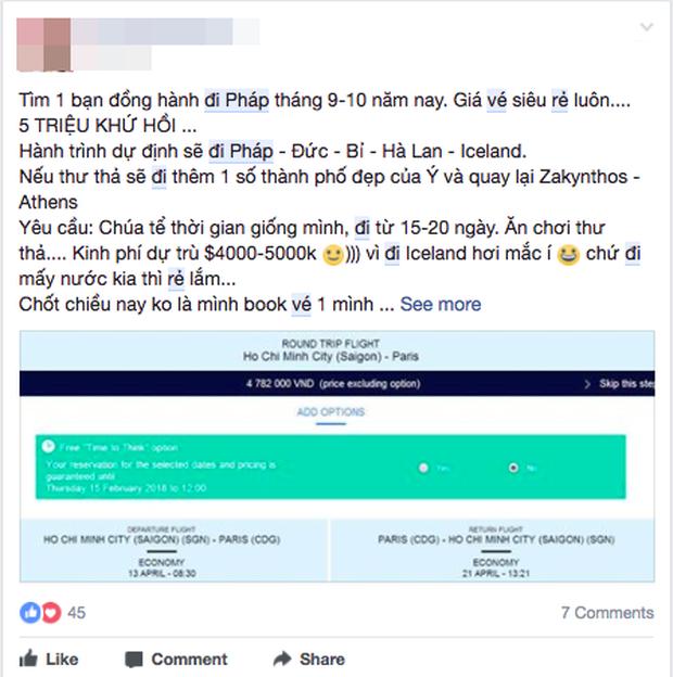 Sáng 29 Tết, nhiều người Việt bất ngờ mua được vé máy bay khứ hồi đi thẳng Pháp với giá chỉ khoảng 4,7 triệu đồng - Ảnh 3.