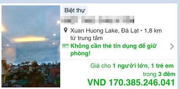 Mùng 4 Tết, biệt thự nguyên căn tại Đà Lạt hiện giá 57 tỷ đồng/đêm trên các trang đặt phòng online khiến nhiều khách ngỡ ngàng - Ảnh 2.