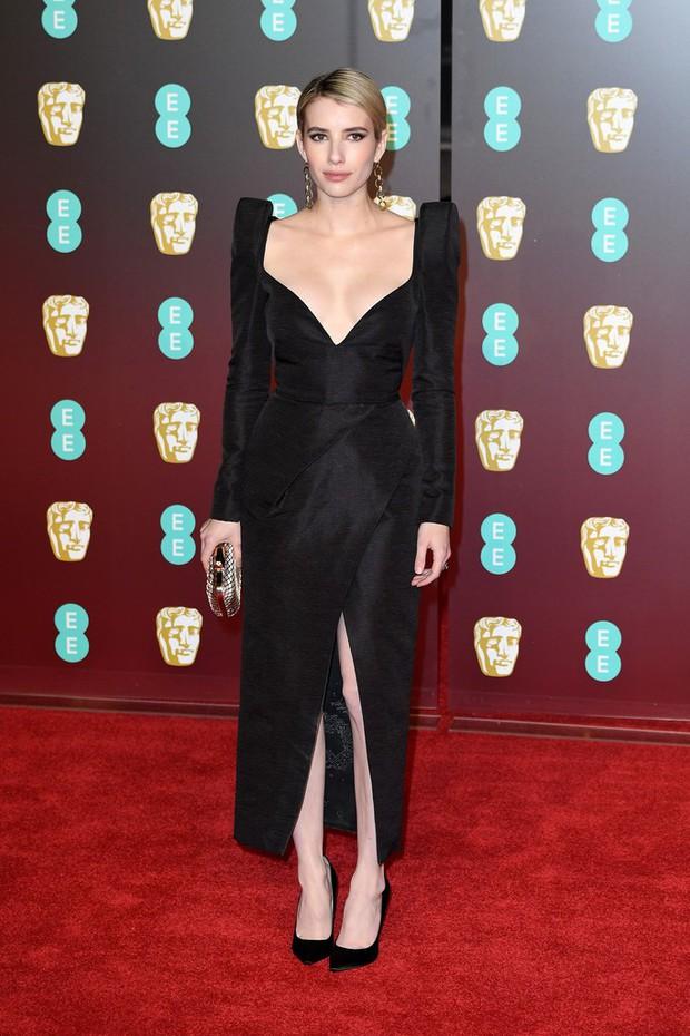 Thảm đỏ Oscar Anh Quốc: Dàn siêu sao tiếp tục khoe sắc với váy đen để ủng hộ phong trào chống quấy rối tình dục - Ảnh 21.
