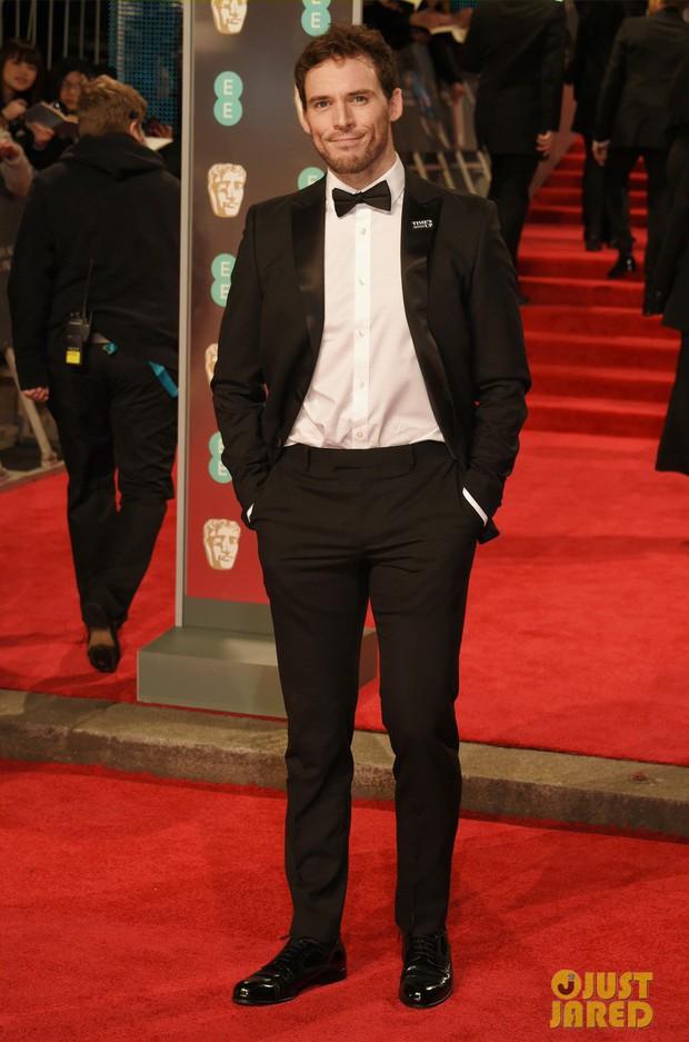 Thảm đỏ Oscar Anh Quốc: Dàn siêu sao tiếp tục khoe sắc với váy đen để ủng hộ phong trào chống quấy rối tình dục - Ảnh 30.