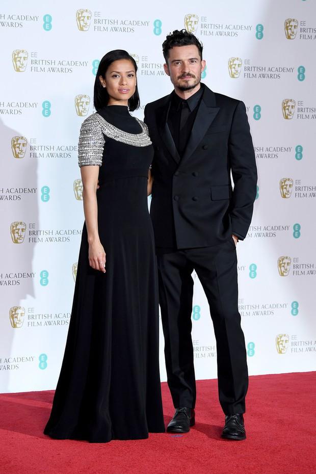 Thảm đỏ Oscar Anh Quốc: Dàn siêu sao tiếp tục khoe sắc với váy đen để ủng hộ phong trào chống quấy rối tình dục - Ảnh 23.