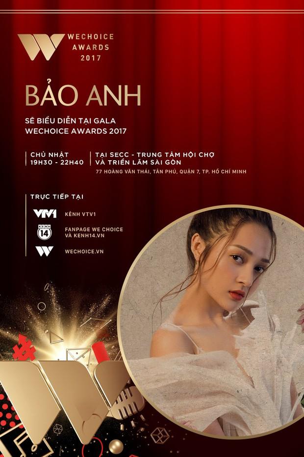 Bích Phương và Bảo Anh là 2 ca sĩ tiếp theo xác nhận biểu diễn tại Gala WeChoice Awards 2017 - Ảnh 3.