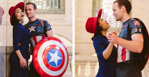 Quyết không chụp ảnh cưới đụng hàng, đôi vợ chồng lầy lội cosplay thành các nhân vật nổi tiếng - Ảnh 24.