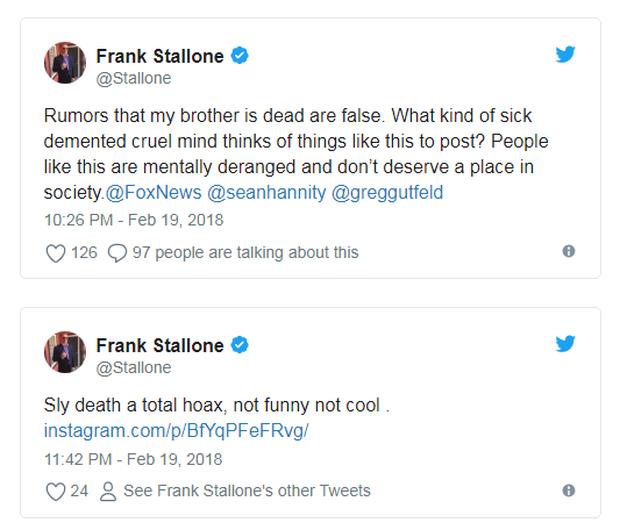 Fan anh hùng cơ bắp Sylvester Stallone được phen hú hồn khi tài tử dính phải tin đồn qua đời - Ảnh 3.