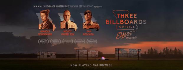 Khóc cười trước tình người ở tác phẩm được mong đợi nhất Oscar lần thứ 90: Three Billboards Outside Ebbing, Missouri - Ảnh 1.