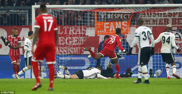 Bayern Munich hủy diệt Besiktas, đặt một chân vào tứ kết Champions League - Ảnh 5.