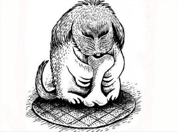Có một chú chó trong bức tranh này, nhưng chỉ 1% nhìn thấy nó trong 2 - Ảnh 2.