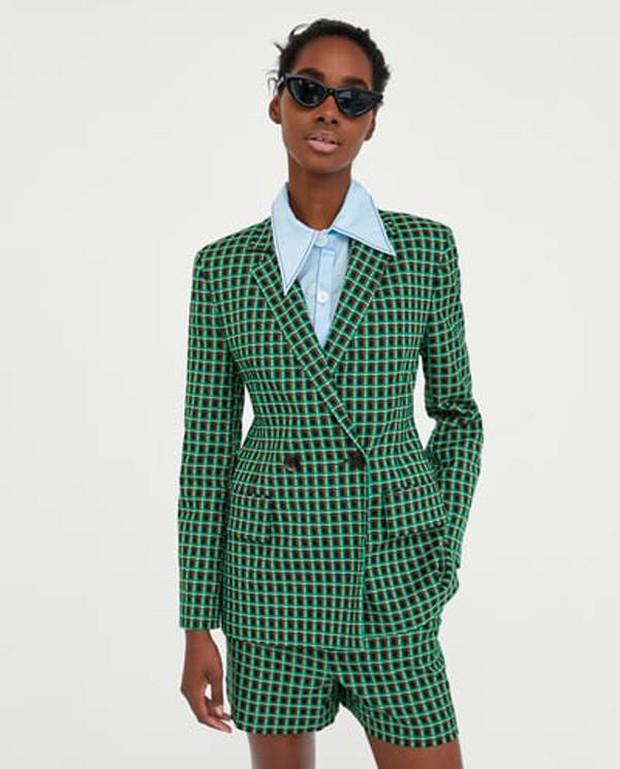 Thiết kế blazer của Zara có gì hot mà cả Thanh Hằng, Hương Giang Idol lẫn Á hậu Lệ Hằng thi nhau diện - Ảnh 7.