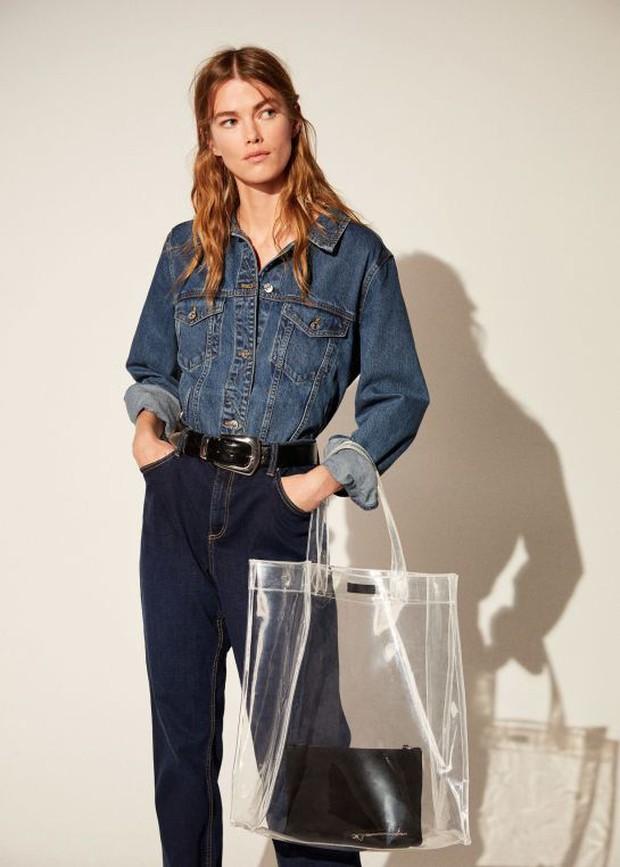 Túi nhựa trong suốt lại oanh tạc tại các Tuần lễ thời trang và dự là sẽ thành hot trend trong năm nay - Ảnh 11.