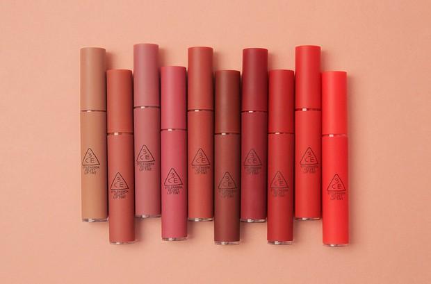 3CE bổ sung 3 màu mới toanh toàn tông tím cực trendy cho dòng son kem Velvet Lip Tint - Ảnh 1.