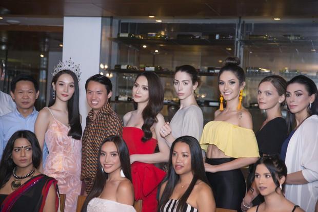 Hương Giang tự tin đọ sắc với Yoshi: Cuộc hội ngộ được chờ đợi nhất tại Hoa hậu Chuyển giới Quốc tế đã diễn ra! - Ảnh 7.