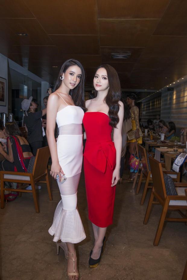 Hương Giang tự tin đọ sắc với Yoshi: Cuộc hội ngộ được chờ đợi nhất tại Hoa hậu Chuyển giới Quốc tế đã diễn ra! - Ảnh 1.