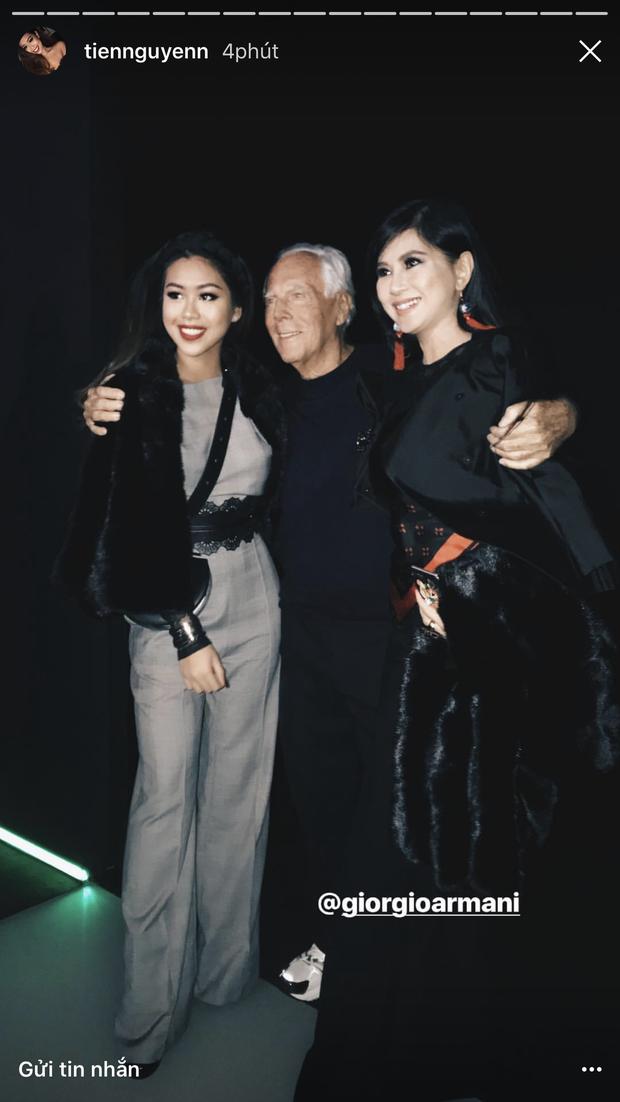 Đã thành quen thuộc, cứ đến mùa là Thảo Tiên lại đánh chiếm ghế đầu loạt show lớn tại Milan Fashion Week - Ảnh 7.