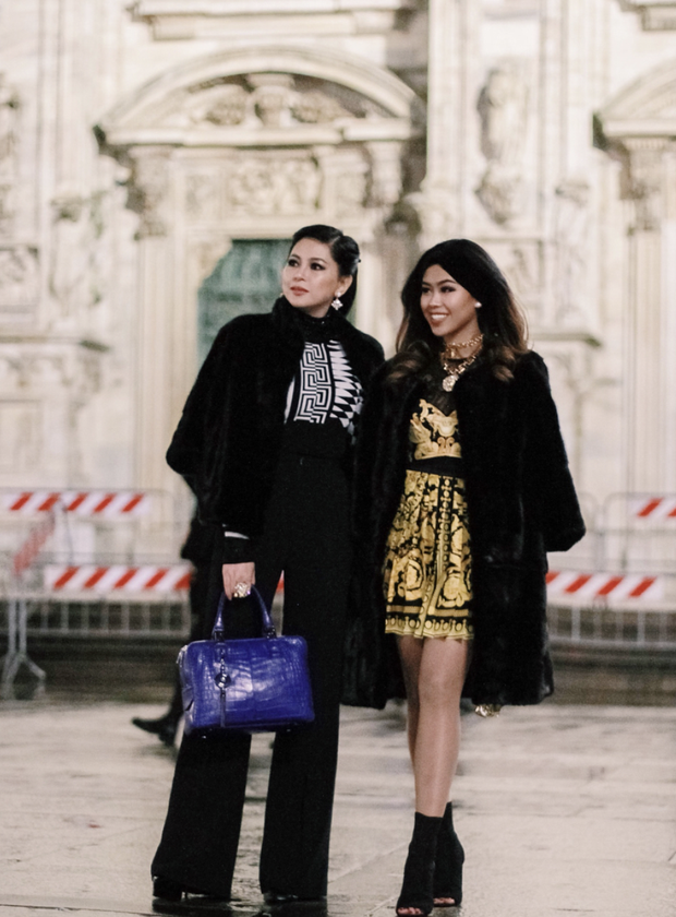 Đã thành quen thuộc, cứ đến mùa là Thảo Tiên lại đánh chiếm ghế đầu loạt show lớn tại Milan Fashion Week - Ảnh 2.