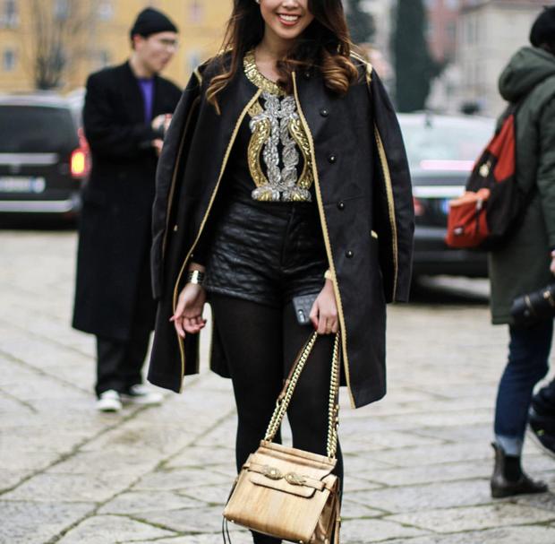 Đã thành quen thuộc, cứ đến mùa là Thảo Tiên lại đánh chiếm ghế đầu loạt show lớn tại Milan Fashion Week - Ảnh 5.