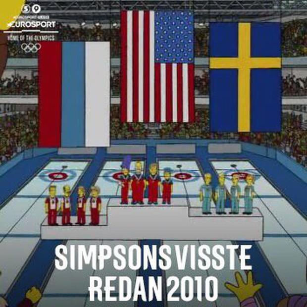 Lại một lần nữa, bộ phim Gia đình Simpson đoán đúng được kết quả Olympic mùa đông 2018 từ cách đây 8 năm - Ảnh 1.