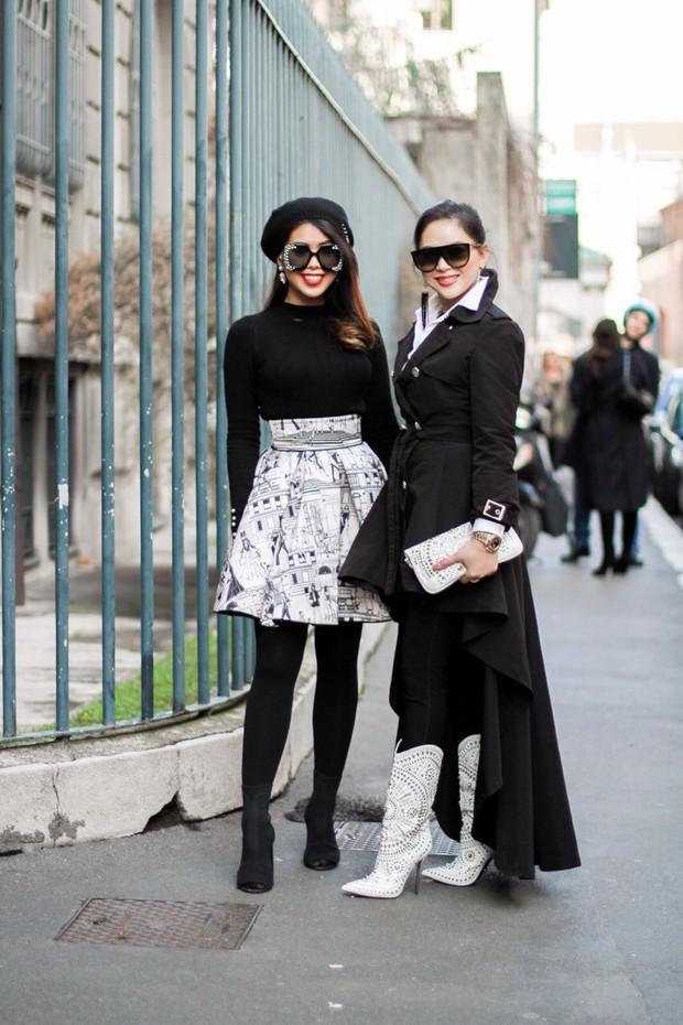 Mùa này nước ta làm gì có ai bay show ác liệt tại Milan Fashion Week hơn là Thảo Tiên - em chồng Hà Tăng - Ảnh 13.