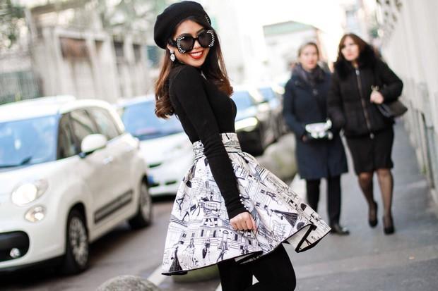 Mùa này nước ta làm gì có ai bay show ác liệt tại Milan Fashion Week hơn là Thảo Tiên - em chồng Hà Tăng - Ảnh 14.
