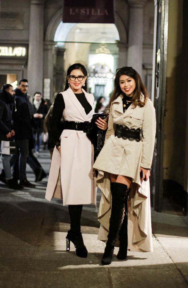Mùa này nước ta làm gì có ai bay show ác liệt tại Milan Fashion Week hơn là Thảo Tiên - em chồng Hà Tăng - Ảnh 7.