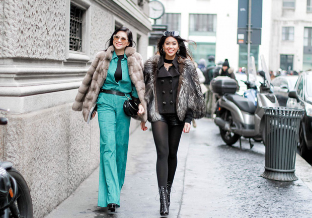 Mùa này nước ta làm gì có ai bay show ác liệt tại Milan Fashion Week hơn là Thảo Tiên - em chồng Hà Tăng - Ảnh 1.