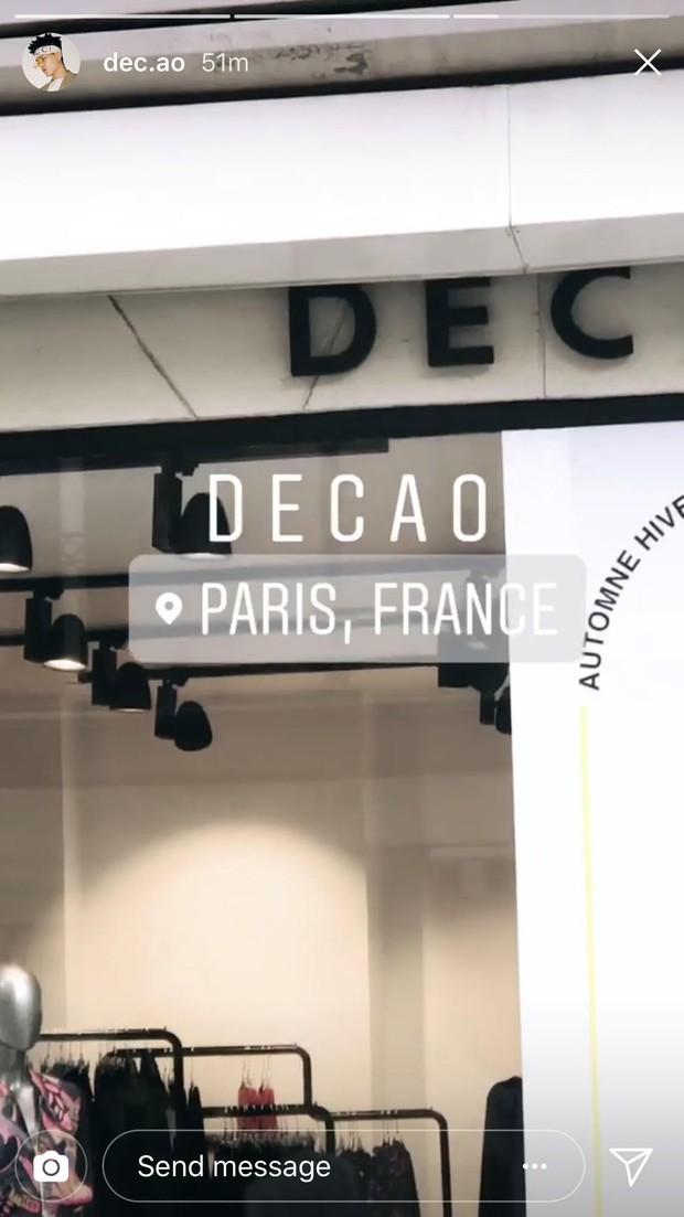 Vừa tái hợp, Châu Bùi và Decao đã được mời sang dự Paris Fashion Week - Ảnh 3.