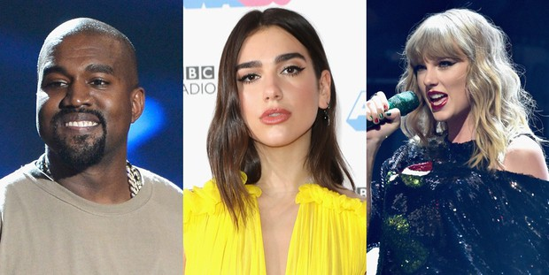 Dua Lipa lý giải nguyên nhân chọn Kanye West thay vì Taylor Swift trong một video cũ gây tranh cãi - Ảnh 1.