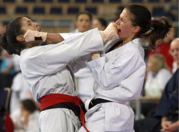 Vợ xinh của Lewandowski là cao thủ karate, có đai đen - Ảnh 3.