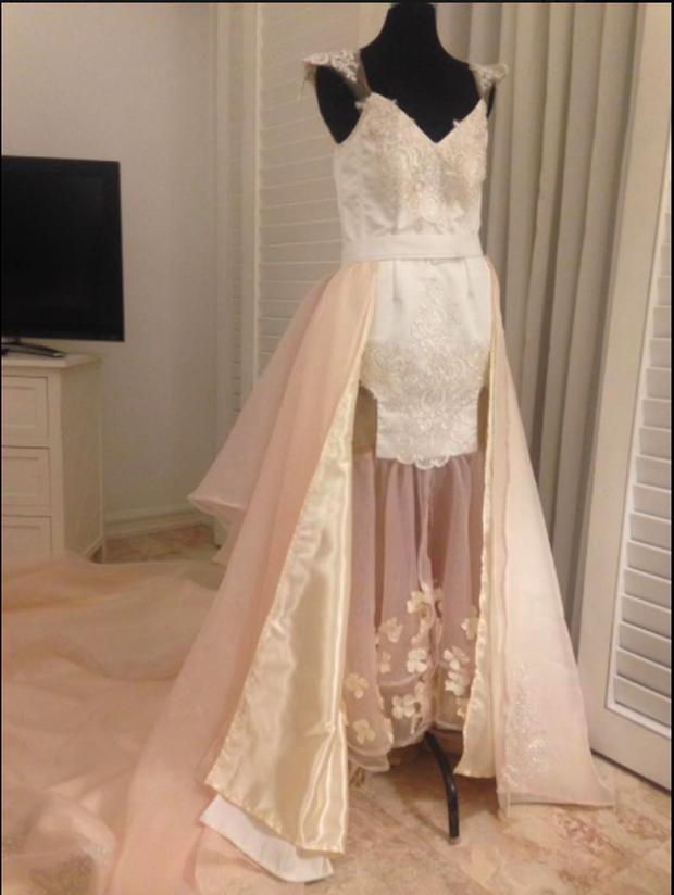 Tin tưởng nhờ bạn may váy cưới với giá 15 triệu đồng, cô dâu tá hỏa khi nhận được sản phẩm ngoài sức tưởng tượng - Ảnh 6.