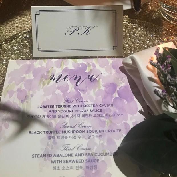 Đám cưới của Taeyang và Min Hyo Rin toàn đãi món sang xịn đẳng cấp không thể ngờ - Ảnh 1.