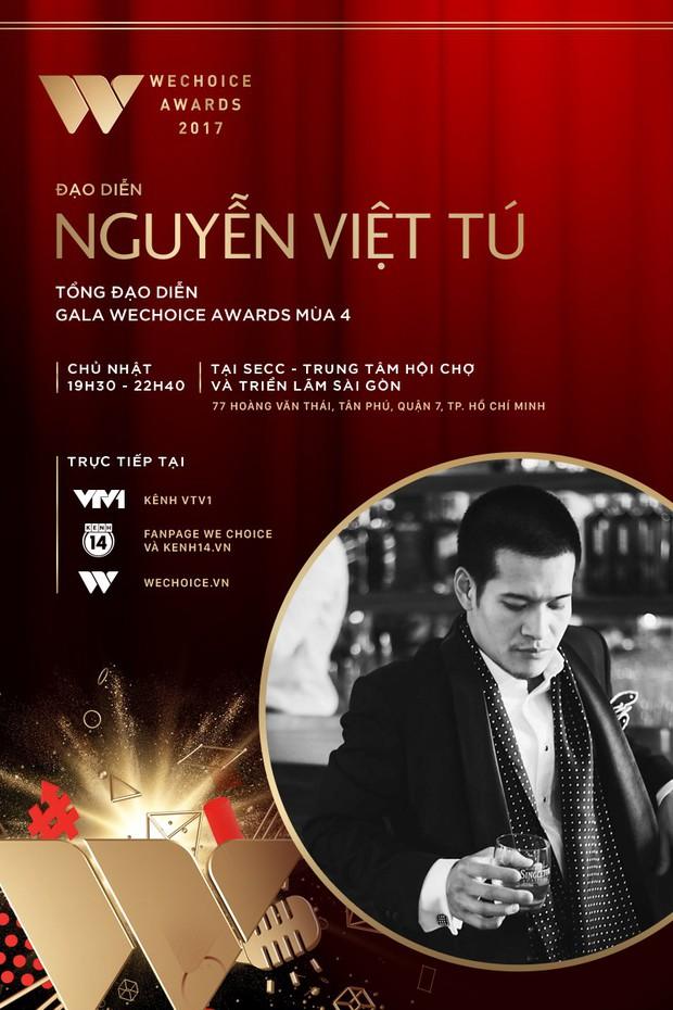 Đạo diễn Việt Tú và nhạc sĩ Dương Khắc Linh kết hợp, hứa hẹn đem tới một đêm Gala WeChoice Awards 2017 ngập tràn cảm hứng - Ảnh 1.