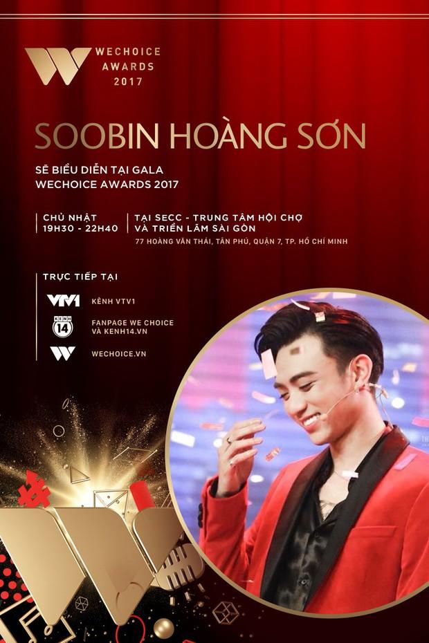 Tóc Tiên và Soobin Hoàng Sơn kết hợp mang đến màn trình diễn chưa từng có tại Gala WeChoice Awards 2017 - Ảnh 2.