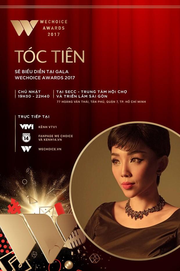 Tóc Tiên và Soobin Hoàng Sơn kết hợp mang đến màn trình diễn chưa từng có tại Gala WeChoice Awards 2017 - Ảnh 1.