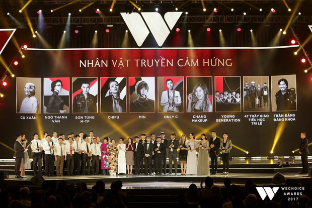 """WeChoice Awards 2017: Lộ diện """"top 5 + 1"""" Đại sứ truyền cảm hứng do Hội đồng thẩm định lựa chọn - Ảnh 1."""
