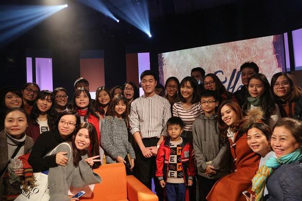 Xuân Trường bắn tiếng Anh suốt 1 tiếng trên talkshow VTV, khiến fan phục sát đất - Ảnh 2.