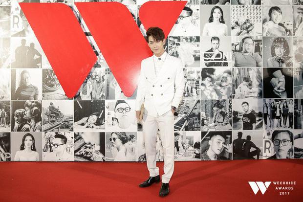 Không kém các mỹ nhân, dàn mỹ nam cũng mỗi người một vẻ công phá thảm đỏ Gala WeChoice Awards 2017 - Ảnh 16.