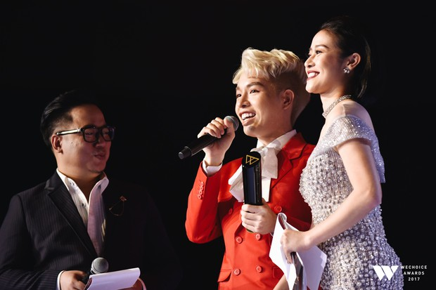 Khoảnh khắc WeChoice Awards: Đẹp nhất là khi Sơn Tùng, bé Bôm và các nghệ sĩ Việt cùng chậm lại trong dòng cảm xúc vỡ òa - Ảnh 19.